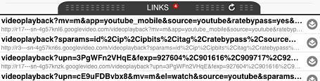 Links zum Downloaden auf YouTube